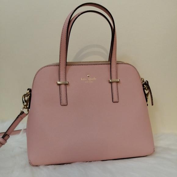 kate spade Handbags - Kate Spade Pink Leather Maise Crossbody Purse